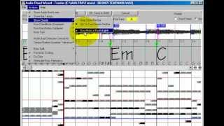Using The  Chord Wizard