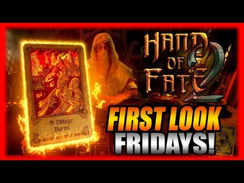 Hand of Fate 2 – First Look Fridays! Impressions Gameplay