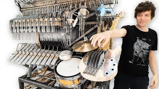 How To Hit Bass Strings With Marbles - Marble Machine X #110
