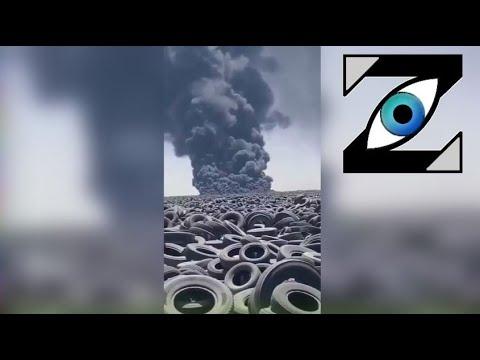 [Zap Net] Un cimetière de pneus en flammes… (08/09/21)