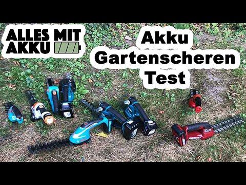 Akku Gartenscheren Test | Die besten Geräte:Makita, Stihl, Bosch, Gardena, Wolf, Einhell