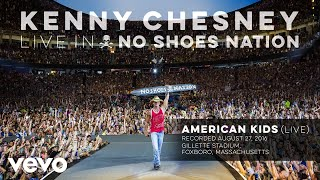 """Video thumbnail of """"Kenny Chesney - American Kids (Live) (Audio)"""""""