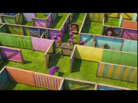 Monsters University Scare Maze Clip