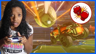 CRAZIER THINGS HAVE HAPPENED!  - Family Beatdown 13 Pt.2 I Rocket League 4 Player Multiplayer