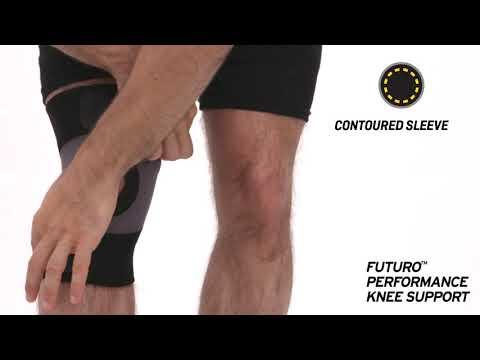 FUTURO Bandaža za koleno, črna