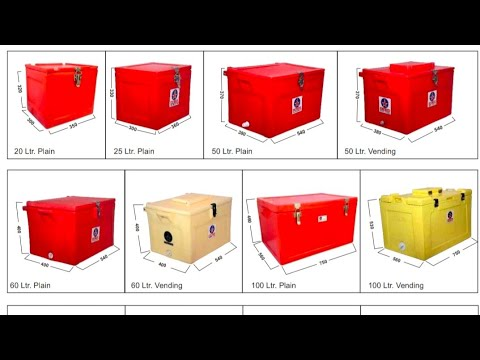 50 Liter Plain Ice Box