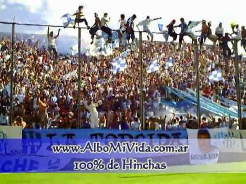 """CN 0 - Gimnasia y Tiro 1 - Hinchada 1"" Barra: La Dale Albo • Club: Gimnasia y Tiro"