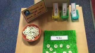Maths Display Interactive Ideas For The Early Years EYFS