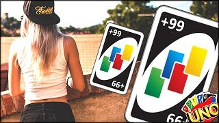 I MAKE MY FRIEND DRAW 30 CARDS AND THEY NOW HATE ME | UNO with Friends | UNO GAME Gameplay
