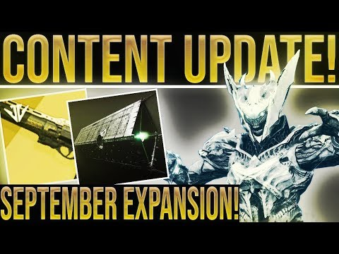 Destiny 2 News. SEPTEMBER EXPANSION! Crimson Days, Huge Jokers Wild Changes, Last Word, & More!