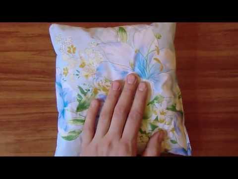 Подушка с травами для сна своими руками