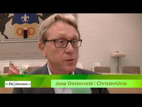 VIDEO | Jaap Oosterveld zwijgt over sleutelrol ChristenUnie bij formatie Dronten