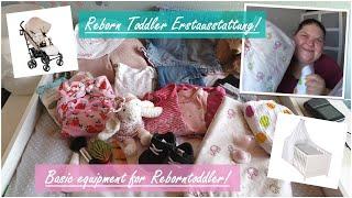 Basic equipment!    Erstausstattung für einen Reborn Toddler!    Deutsch    Little Reborn Nursery