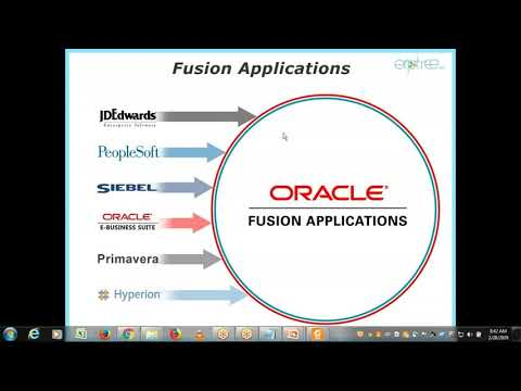 Oracle Fusion Financials Training | 1st Session - YouTube
