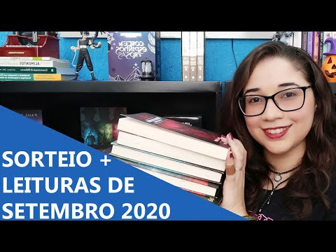 SORTEIO E LEITURAS DE SETEMBRO 2020 ?   Biblioteca da Rô