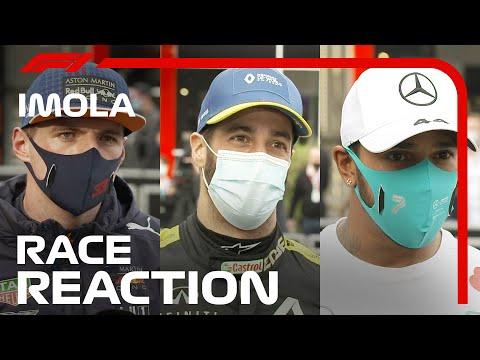 イモラサーキットでのレースを終えたドライバーのインタビュー動画 F1 第13戦エミリア・ロマーニャGP
