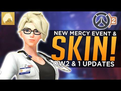 Overwatch: NEW Mercy Event & SKIN! - OW2 PvP Updates & News