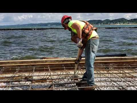 Video: Grand Haven south pier/catwalk repair project update