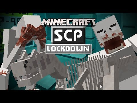 SCP: Lockdown (Minecraft Mod Showcase) 1.12.2 - Mandatory SCP Review