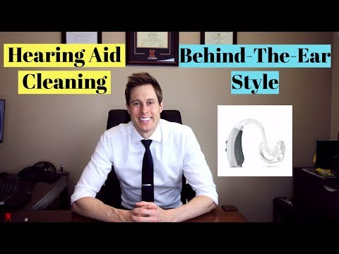 Cleaning a Behind-The-Ear (BTE) Hearing Aid – Applied Hearing Solutions
