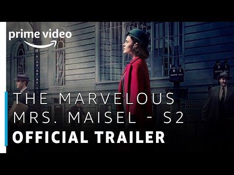 TV Trailer: The Marvelous Mrs. Maisel Season 2 (0)