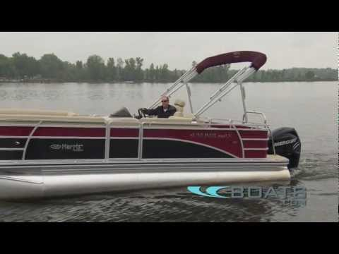 2012 Harris FloteBote Sunliner LS 220 Pontoon Boat Review / Performance Test