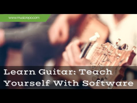 How To Learn Guitar: Teach Yourself With Software - YouTube
