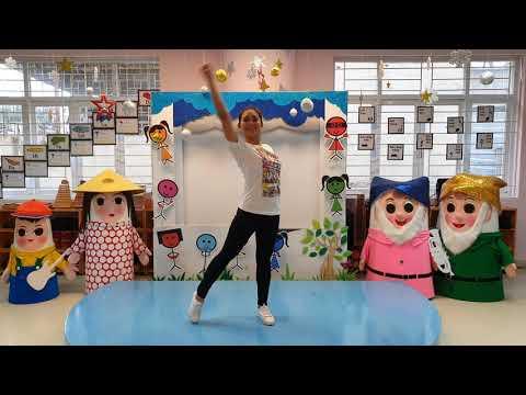 Hướng dẫn các bé nhảy theo bài hát Hộp bút chì