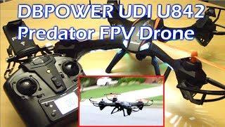 DBPOWER UDI U842 Predator Drone 720P Camera 6 Axis Gyro