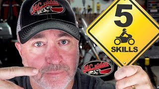 5 Motorcycle Skills EVERY Rider Needs to Develop