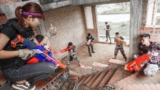 LTT Nerf War : SEAL X Warriors Nerf Guns Fight Attack Criminal Group Team revenge