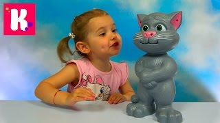Кот Том - говорящая интерактивная игрушка из компьютерной игры