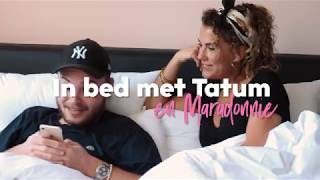 In bed met...  Maradonnie