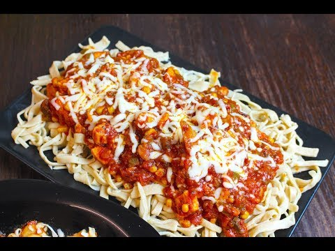 HomeMade Pasta Recipe * COOK WITH FAIZA*