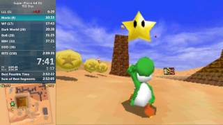 Super Mario 64 DS 150 Star (100%) in 2:59:03