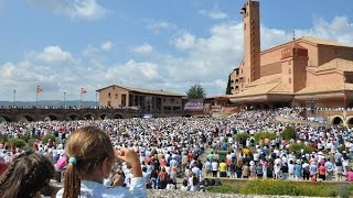Miles de personas piden por los refugiados y el sínodo de la familia