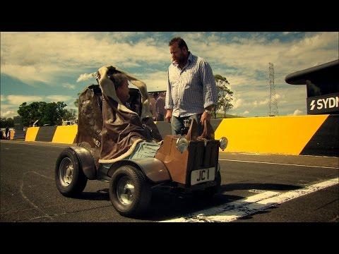 World's Smallest Car Vs Jet | Top Gear Festival Sydney