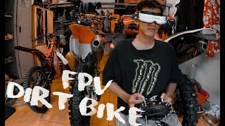Mui Ne Enduro : FPV vs Enduro Crf 450 track san hill