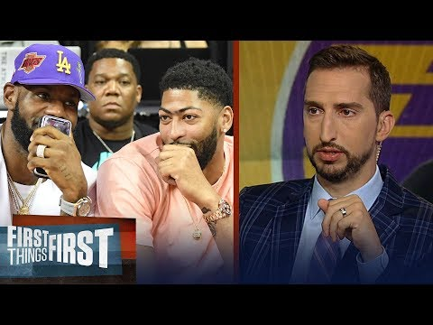 Lakers have the most upside of any roster in basketball - Nick Wright | NBA | FIRST THINGS FIRST