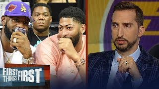 Lakers have the most upside of any roster in basketball - Nick Wright   NBA   FIRST THINGS FIRST