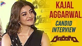 Kajal Aggarwal Candid Interview