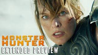 MONSTER HUNTER - Extended Preview   On Digital 2/16