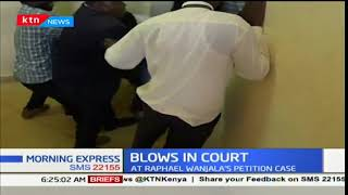 Drama at Busia High Court after a witness fights member of public