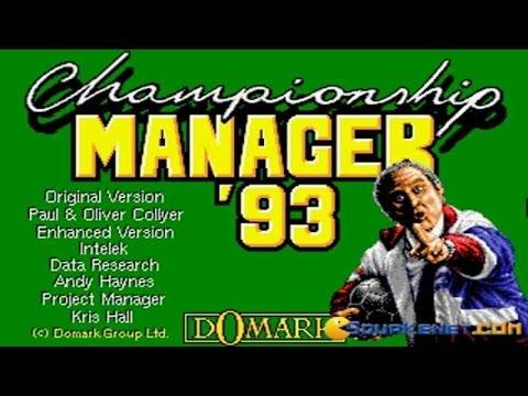Championship Manager Amiga