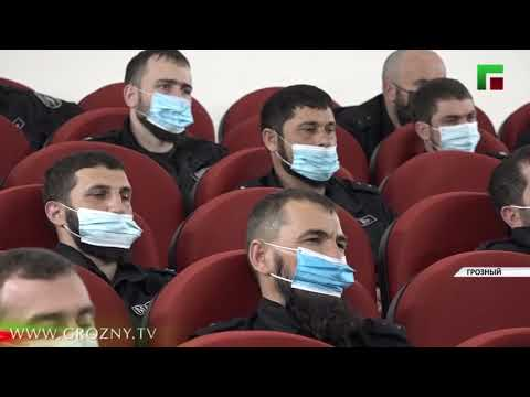 Ахмед Дудаев провел встречу с личным составом Полка имени Ахмата Хаджи Кадырова