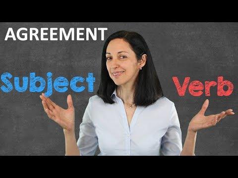 Subject-Verb Agreement | Learn English Grammar Online