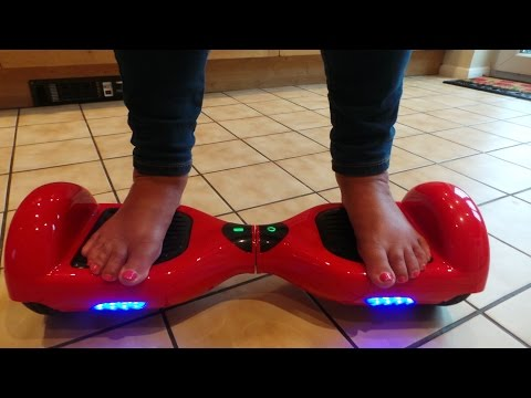 Self Balancing Smart Electric Scooter  #Hoverboard Unboxing full REVIEW