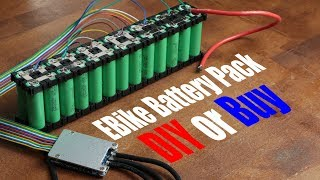 EBike Battery Pack || DIY or Buy || Electric Bike Conversion (Part 2)