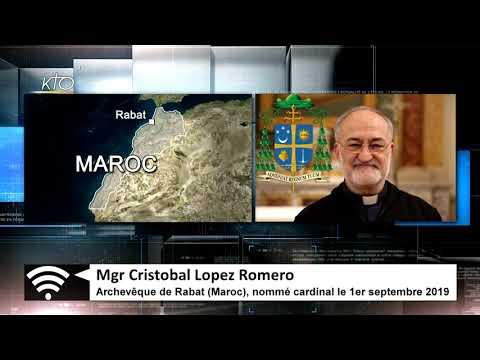 L'archevêque de Rabat Mgr Lopez, nouveau cardinal