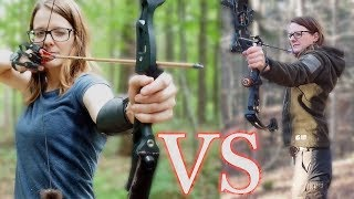 What is better compound bow or recurve